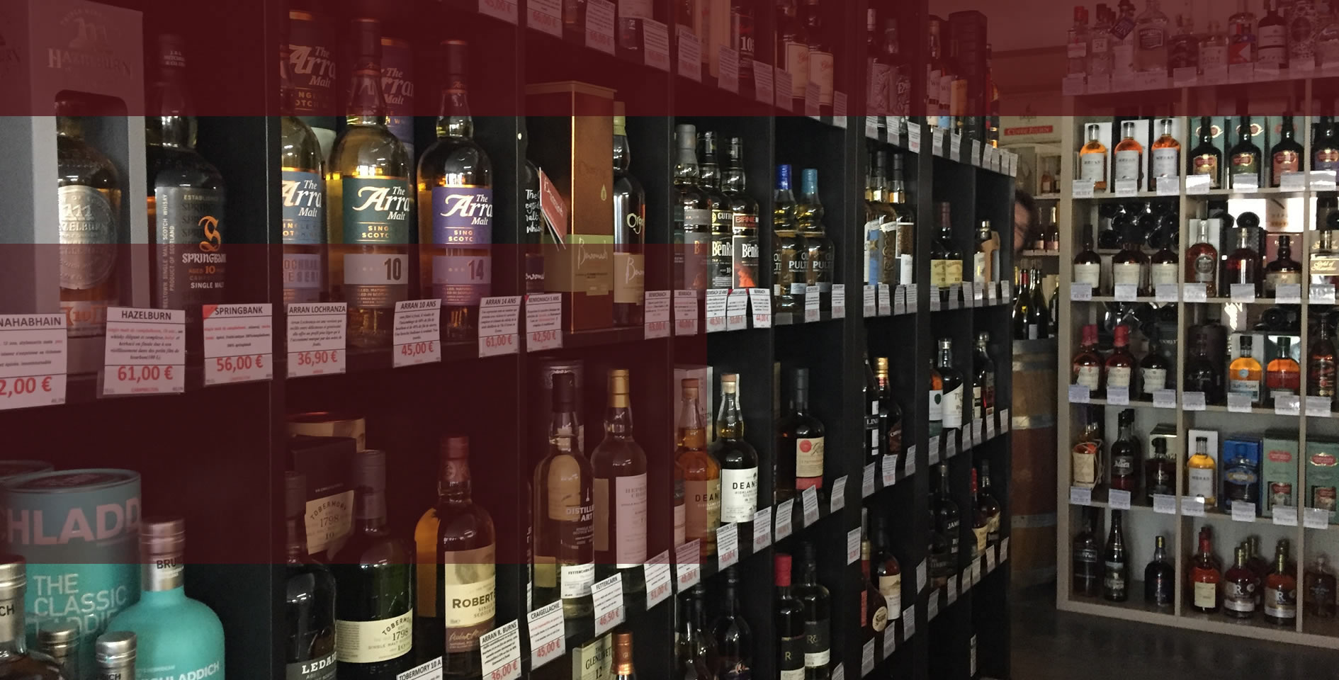 Over 100 Whiskies in Stock